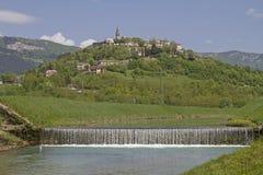 Buzet em Mirna em Istria Fotografia de Stock