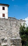 Buzet fortress wall Stock Photo