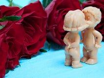 Buziak dla walentynki ` s dnia Obraz Stock