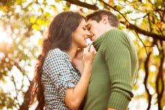 Buziak w parku Fotografia Royalty Free