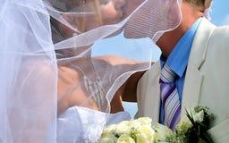 buziaka ślub Fotografia Stock