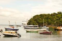 Buzios, Brazil. Beautiful boats on Buzios Peninsula, Brazil Stock Images