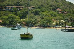 Buzios, in Cabo Frio, Brasil royalty free stock photo