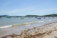 BUZIOS, RJ/BRAZIL - 11 MARZO 2017 Spiaggia di Manguinho in Buzios fotografie stock