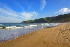 Buzios. Sea and sand of Tucuns beach in Buzios city, Rio de Janeiro Stock Image