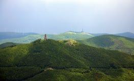 Buzludzha和希普卡纪念碑 库存图片