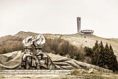 Buzludzha a abandonné le monument communiste Photos libres de droits