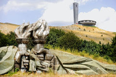 Buzludzha communist monument Royalty Free Stock Photography