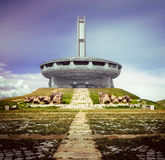 Buzludzha maximum i Bulgarien Royaltyfri Bild