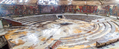 Buzludzha monument inside Royalty Free Stock Photography