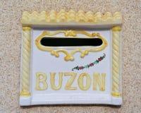 Buzon, ταχυδρομική θυρίδα Στοκ Φωτογραφίες