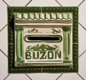Buzon, почтовый ящик Стоковое Изображение