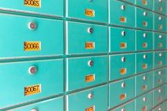 Buzones Imágenes de archivo libres de regalías