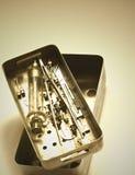 Buzones de correos médicos de las herramientas Fotografía de archivo libre de regalías