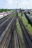 Buzuluk railway station , Russia Royalty Free Stock Photos