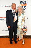 Buzz Aldrin. And Wife Lois  at the 17th Annual Race To Erase MS, Century Plaza Hotel, Century City, CA 05-07-10 Stock Photos