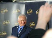 Buzz Aldrin. Grand Rex, Paris, France - APRIL 24 2009: Opening night Royalty Free Stock Photo