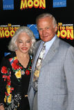 'Buzz' Aldrin. Buzz Aldrin and wife Lois at the Los Angeles Premiere of 'Fly Me To The Moon'. DGA, Hollywood, CA. 08-03-08 stock photos