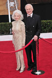 Buzz Aldrin, Edwin. Edwin Buzz Aldrin & wife Lois Aldrin at the 14th Annual Screen Actors Guild Awards at the Shrine Auditorium, Los Angeles, CA. January 27 Stock Images