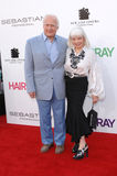 Buzz Aldrin, Edwin. Edwin Buzz Aldrin & wife Lois at the Los Angeles premiere of Hairspray at the Mann Village Theatre, Westwood. July 11, 2007  Los Angeles, CA Stock Photo