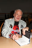 Buzz Aldrin. HUNTINGTON, NY-APR 5: Former astronaut Buzz Aldrin (L) signs his book No Dream Is Too High: Life Lessons From A Man Who Walked on the Moon at Book Stock Photos