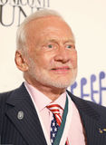 Buzz Aldrin. Legendary astronaut, and second man on the moon, Buzz Aldrin arrives on the red carpet at the Waldorf Astoria in New York City for the 31st Annual Stock Photography
