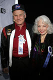 Buzz Aldrin. November 27, 2005 - Hollywood - Buzz Aldrin and wife Lois at the 2005 Hollywood Christmas Parade at the Hollywood Roosevelt Hotel in Hollywood, CA stock image