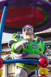 BUZZ LIGHTYEAR. DISNEYLAND, HONG KONG: Celebrate Christmas New Year on December 31, 2012 in Disneyland, Hong Kong Stock Image