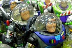 Buzz Lightyear die fiktive Action-Figur des Raum-Förstersuperhelden lizenzfreies stockfoto