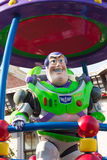 BUZZ LIGHTYEAR DISNEYLAND, HONG KONG. Celebrate Christmas New Year Festival on December 31, 2012 in Disneyland, Hong Kong royalty free stock image