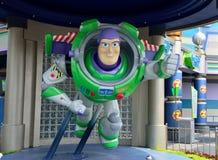 Buzz Lightyear-Statue, Disney-Zeichentrickfilm-Figur Lizenzfreie Stockbilder