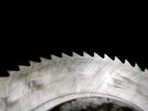 Buzz Saw. This is a cutting blade royalty free stock photos