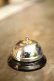 Buzzer or bell on front desk in hotel. Thailand Royalty Free Stock Photo