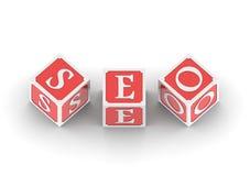 Buzzword   SEO Royalty Free Stock Image