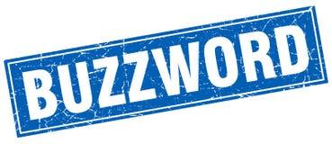 Buzzword square stamp Stock Image