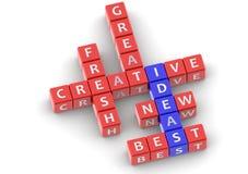Buzzwords ideas Stock Photo