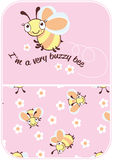 Buzzy pszczoła. Fotografia Stock