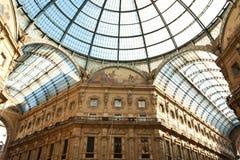 Bóveda en Milano, Italia Fotos de archivo libres de regalías