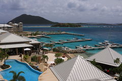 BVI Resort Stock Image
