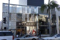 Bvlgari Jewelry Store Stock Image