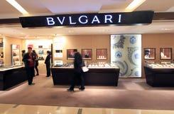 Bvlgari shop in Hong Kong Stock Photo