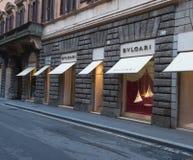 Bvlgari store Stock Photo
