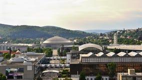 BVV Exhibition Center.Brno - Czech Republic - Europe. BVV Exhibition Center. Brno - Czech Republic - Europe stock image