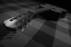 BW吉他 免版税库存照片