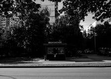 BW城市 免版税库存照片