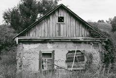bw Руины дома Стоковая Фотография RF