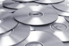 BW CD del fondo Foto de archivo libre de regalías