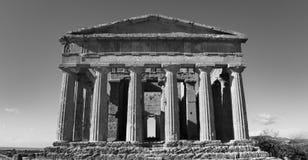 BW Concordia della Tempio стоковое фото