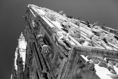 BW Duomo di Milano. Black&White Duomo di Milano in Italy Stock Image