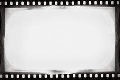 BW film background. Designed empty film strip background Stock Photos